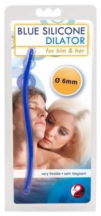 Синий стимулятор-дилатор для стимуляции уретры