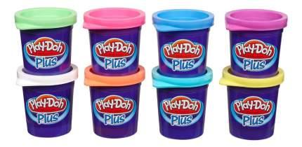 Пластилин play-doh набор пластилина из 8 баночек play-doh plus a1206