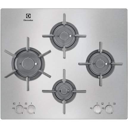 Встраиваемая варочная панель газовая Electrolux EGU96647LX Silver