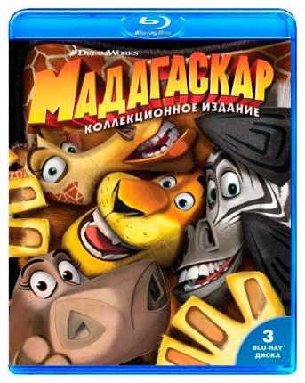 BLU-RAY-видеодиск Мадагаскар 1-2-3 Коллекционное издание