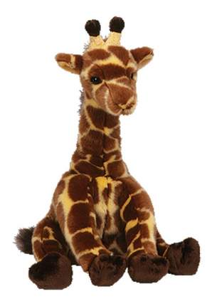 Мягкая игрушка TY Classic Жираф Hightops, 25 см