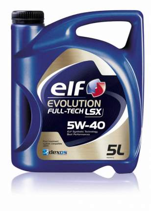 Моторное масло elf Evolution Full-Tech LSX 5W-40 5л