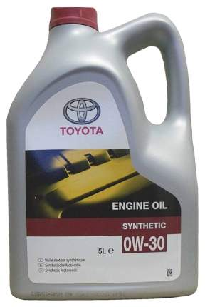 Масло моторное синтетическое 5л - 0W30 Engine Oil Synthetic A3/B3/B4 SL/CF