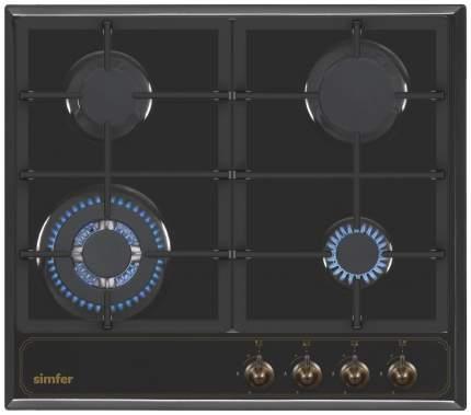 Встраиваемая варочная панель газовая Simfer H60V41L511 Black