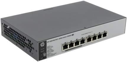 Коммутатор HP OfficeConnect 1820 1820-8G-PoE+ J9982A Серый, черный