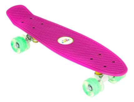 Скейтборд Leader Kids фиолетовый