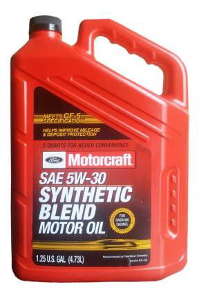 Моторное масло Motorcraft Premium Synthetic Blend 5W-30 4,73л
