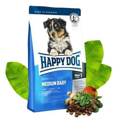 Сухой корм для щенков Happy Dog Supreme Young Medium Baby, птица, лосось, ягненок, 10кг
