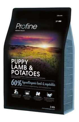 Сухой корм для щенков Profine Puppy Lamb & Potatoes, ягненок, 3кг
