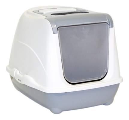 Туалет для кошек MODERNAFlip Cat закрытый серый 50х39х37см