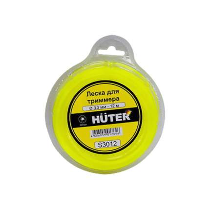 Леска для триммера HUTER S3012 желтый (71/2/2)