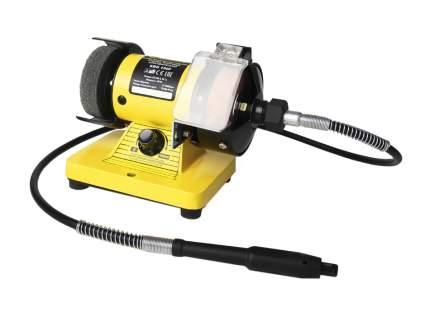 Станок точильный Kolner KBG 150 F желто-черный (кн150ф)