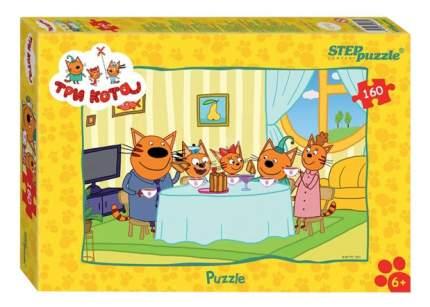 Пазл Step Puzzle Три кота 160 деталей