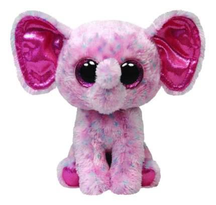 Мягкая игрушка TY Beanie Boos Слоненок (розовый) Ellie 25 см