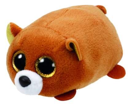 Мягкая игрушка TY Teeny Медведь коричневый 10 см