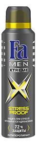 Дезодорант-антиперспирант Fa MEN Xtreme Activated 150 мл
