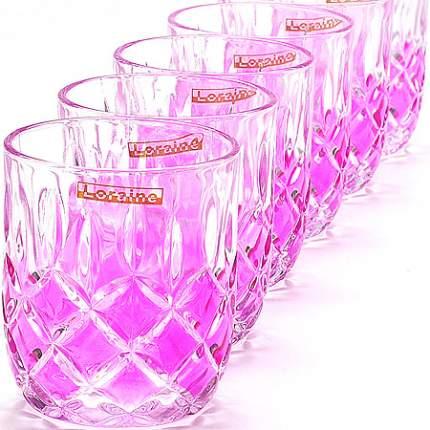 Набор стаканов LORAINE 210 мл 6шт