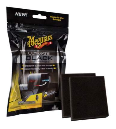 Губки для внешних деталей из пластика, винила и резины Ultimate Black Trim Sponge G15800