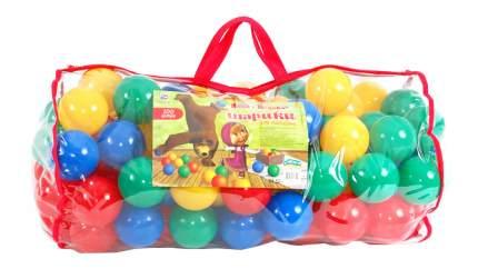 """Шарики для сухих бассейнов Grand Toys """"Маша и Медведь"""" 100 шт."""