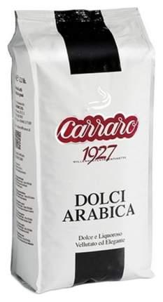 Кофе в зернах Carraro dolci arabica 1000 г