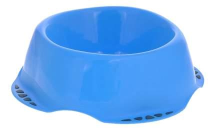 Одинарная миска для собак MPS, пластик, синий, 1 л