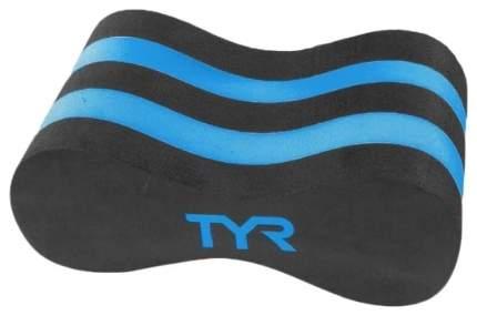 Колобашка для плавания TYR Super Pull Float LPF голубая/черная (011)