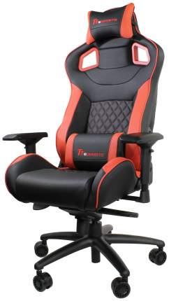 Игровое кресло Thermaltake eSPORTS GTF 100 GC-GTF-BRMFDL-01, красный/черный