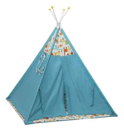 Игровая палатка Polini Жираф, голубой