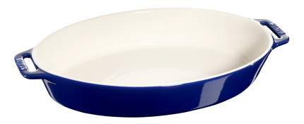 Форма для запекания Staub 40511-161-0 37 см, синяя