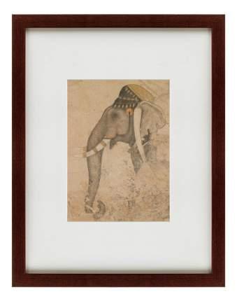 Картина Картины в Квартиру Слон И Наездник (47х60 см)