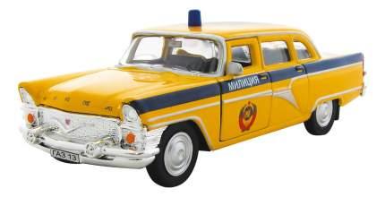 Машина спецслужбы Autotime ГАЗ-13 ЧАЙКА Милиция СССР 1:43