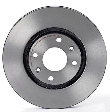 Тормозной диск brembo 09.9167.11 передний