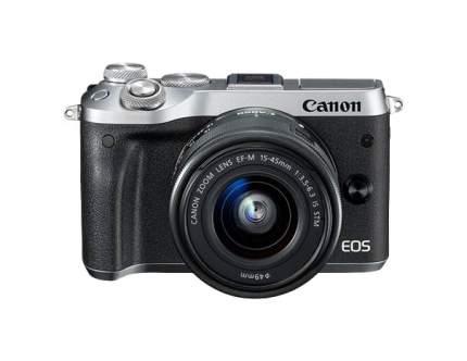 Фотоаппарат системный Canon EOS M6 EF-M 15-45 IS STM Silver/Black
