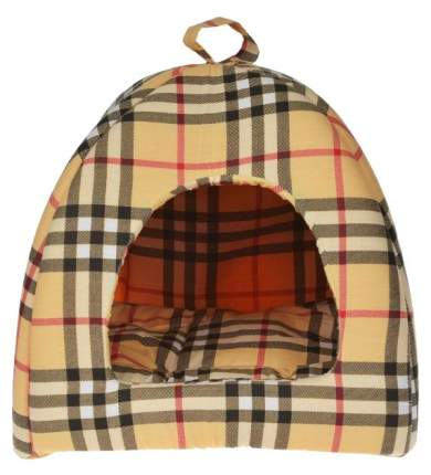 Домик для собак Бобровый Дворик текстиль, 38х42х42см, цвет в ассортименте