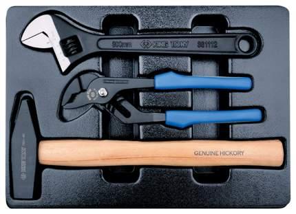 Набор шарнирно-губцевого инструмента KING TONY 9-90103PP02