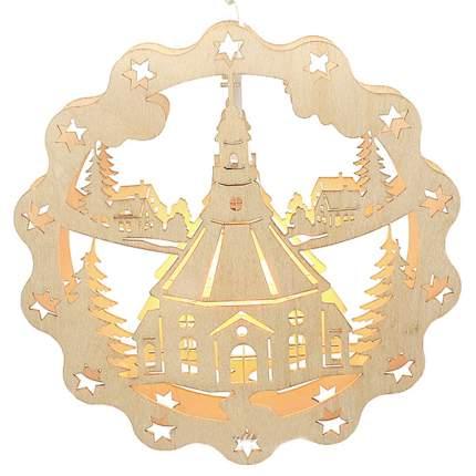 Sigro Подвесная светящаяся композиция Храм на Рождество 31 см 5210063