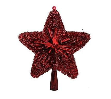 Kaemingk Верхушка Звезда 23 см красная 410492