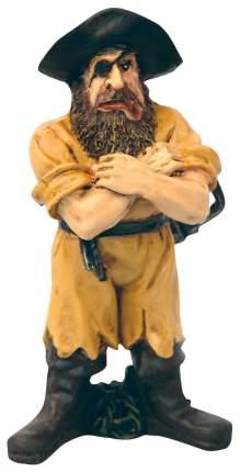 Декорация для аквариума DEZZIE Пират Черная Борода, пластик, 6,5х3,5х9 см