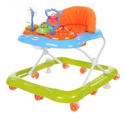 Ходунки детские Baby Care Mario GL-800S синий/зеленый