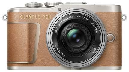 Фотоаппарат системный Olympus PEN E-PL9 14-42 EZ Brown