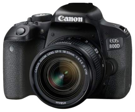 Зеркальный фотоаппарат Canon EOS 800D 18-55 Black
