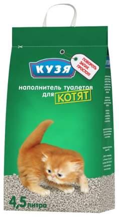Наполнитель впитывающий Кузя 4,5 л 2,8 кг без запаха