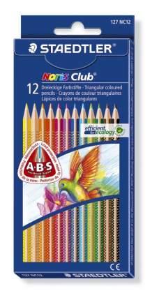 Карандаши цветные NorisClub трехгранные 12 цв Staedtler