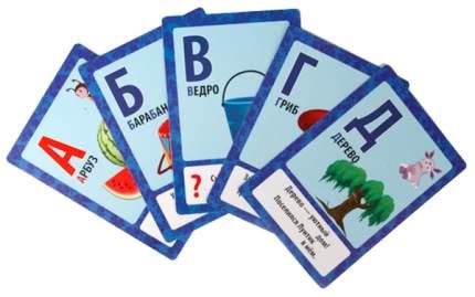 Семейная настольная игра Умка Карточки обучающие Буквы и цифры Лунтик 36 карточек