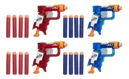 Бластер Nerf N-Strike Elite Sonic Fire and Ice Jolt Team Pack of Four A7957