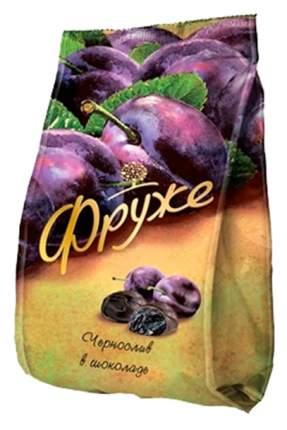 Конфеты Фруже чернослив с сочной начинкой в шоколаде 190 г