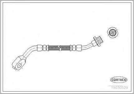 Шланг тормозной системы Corteco 19030529
