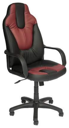 Кресло руководителя TetChair NEO1 Черный, Бордовый