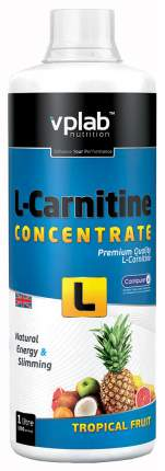 VPLab L-Carnitine Concentrate, 1000 мл, Tropical Fruit