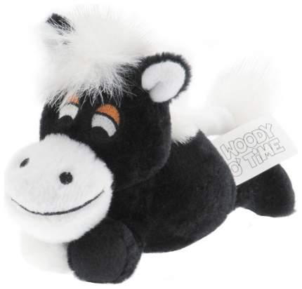 Интерактивная Мягкая игрушка Woody OTime Маленькая лошадка Чёрная